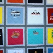 S. America t-shirt quilt