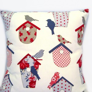 Birdhouse cushion