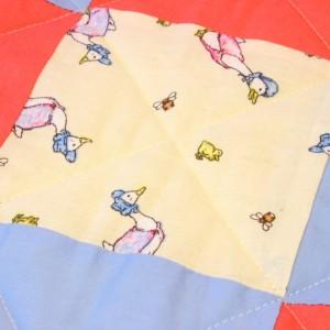 Jemima Puddleduck childrens quilt